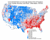 Cancer mortality rates by county