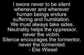 Silence is NOT golden--silence is consent